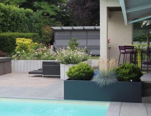 Un nouvel espace piscine et spa